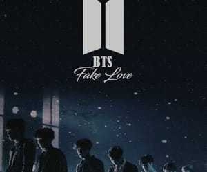 live, fake love, and bts image