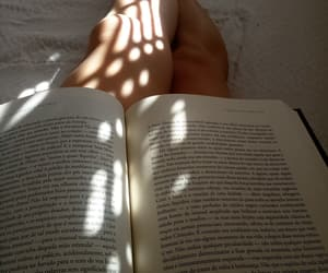 books, lovely, and sun image