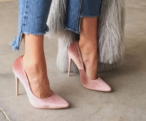 shoes, fashion, and denim image