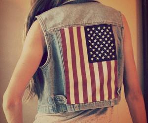fashion, usa, and american flag image