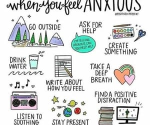 anxiety and help image