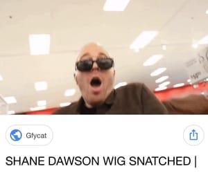 meme, shane, and wig image