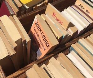 books, sun, and Sunny image