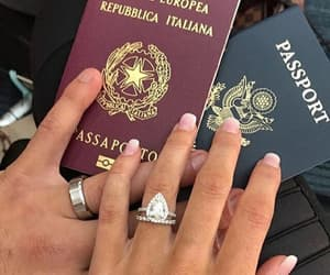 couple, passport, and goals image