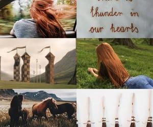 aesthetic, ginny weasley, and gryffindor image