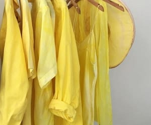 yellow, aesthetic, and fashion image