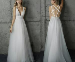 prom dress and wedding dress image