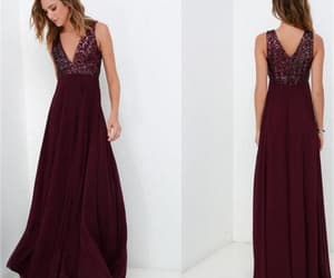 evening dress, prom dress, and formal dress image