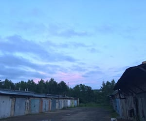 pink sky, sky, and summer image