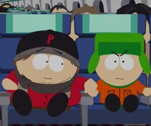 cartman, kyle, and South park image