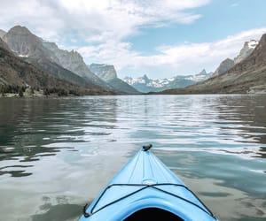 adventure, destination, and Glacier National Park image