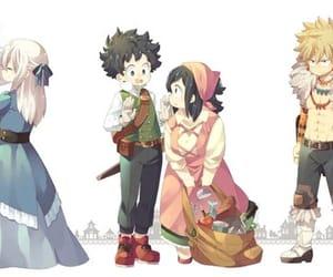 anime, midoriya izuku, and bnha image