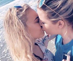 gay, kissing, and lesbian image