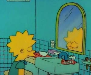 sad, simpsons, and the simpsons image