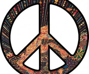 gif, hippies, and signo hippie image