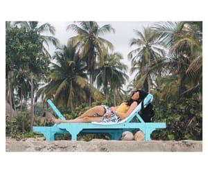beach, vacation, and beachlife image