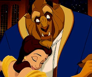 animation, beauty and the beast, and movie image