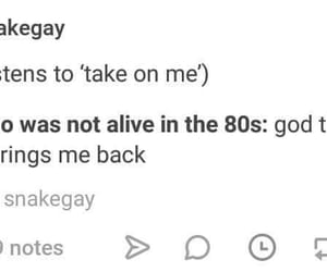 80s, AHA, and decade image