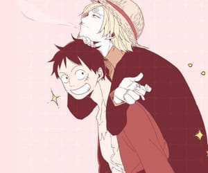 anime, header, and one piece image