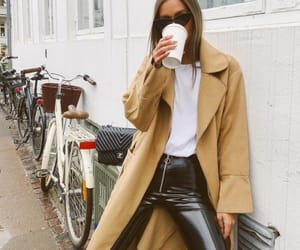 fashion, coat, and outfit image