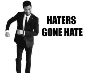 black and white, funny, and kid cudi image