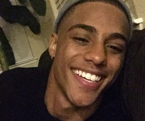 keith powers, smile, and boy image