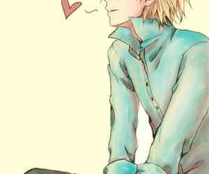 anime, heart, and bishounen image