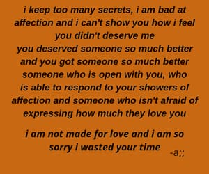 him, I Love You, and i miss you image