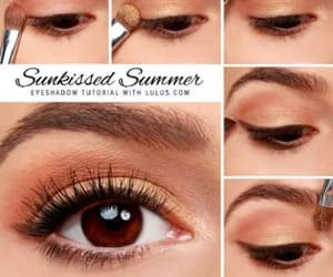 makeup, eyeshadow, and summer image