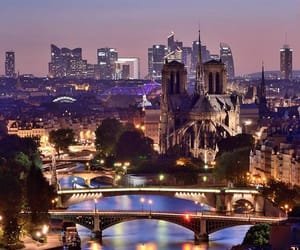 city, Houses, and parís image