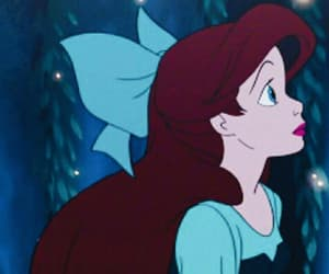 animation, ariel, and boy image