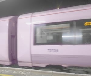 pale, pink, and train image