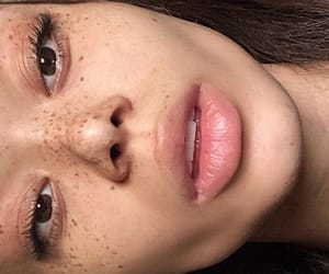 beautiful, freckles, and instagram image