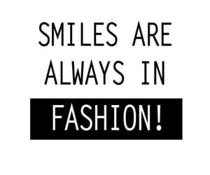 fashion and smile image