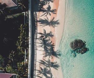 beach, sand, and scenery image