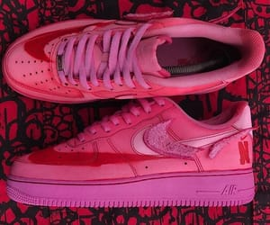 color, nike, and pink image