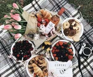 comida, food, and picnic image