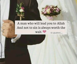 allah, marriage, and waiting image