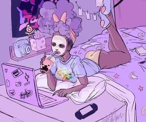 anime, pastel, and anime girl image