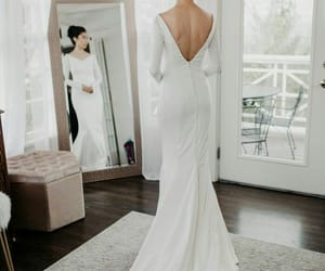 beautiful, gown, and bride image