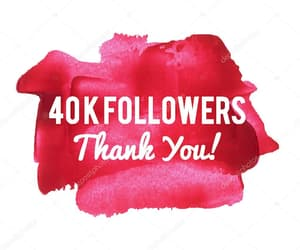 followers, like, and thank you image