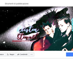 graphicdesign, kristenstewart, and facebookcover image