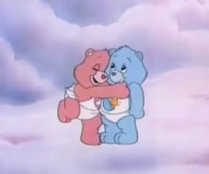 cartoon, blue, and care bears image
