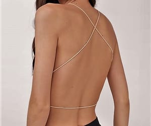backless, fashion, and strings image