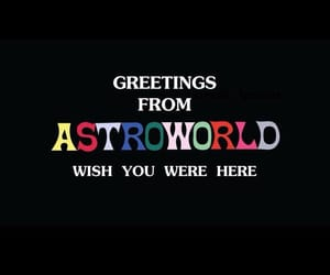 music, travis scott, and astroworld image