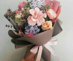 aesthetic, bouquet, and pretty image