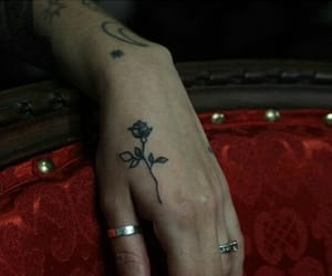 rose and tatto image