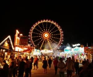 fairground, munich, and wheel image