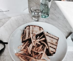 drinks, food, and fries image