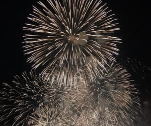 black, fireworks, and japan image